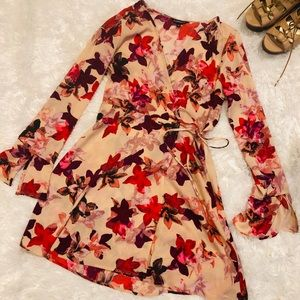 Express floral dress like new